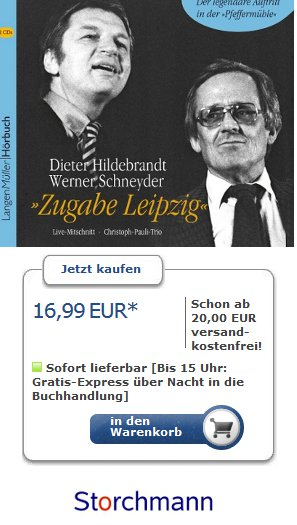 Dieter Hildebrandt/Werner Schneyder