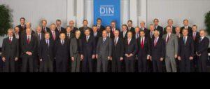 Teilnehmer der DIN-Präsidialsitzung am 29. November 2012