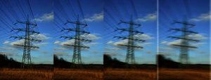 Bild 7: Wo heute nur eine Stromleitung verläuft, könnten es in einigen Jahrzehnten vier sein