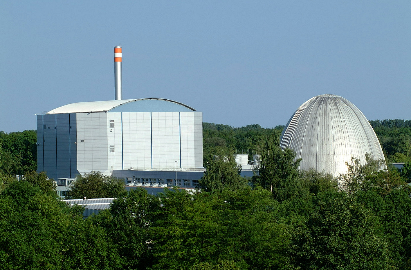 Forschungsreaktor II und Atomei (FRM), TUM©