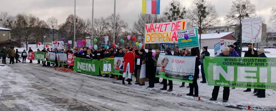 """""""Aktion Abendsonne"""" und ein unrühmlicher Neujahrsempfang der Grünen im Odenwald"""
