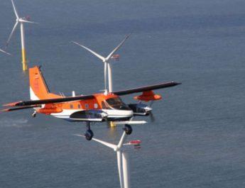 Windkraftanlagen erzeugen Wirbelschleppen