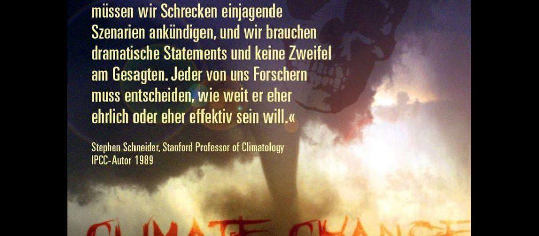 """Die Entzauberung eines """"Klimaexperten"""""""