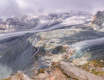 Alpen Gletscher