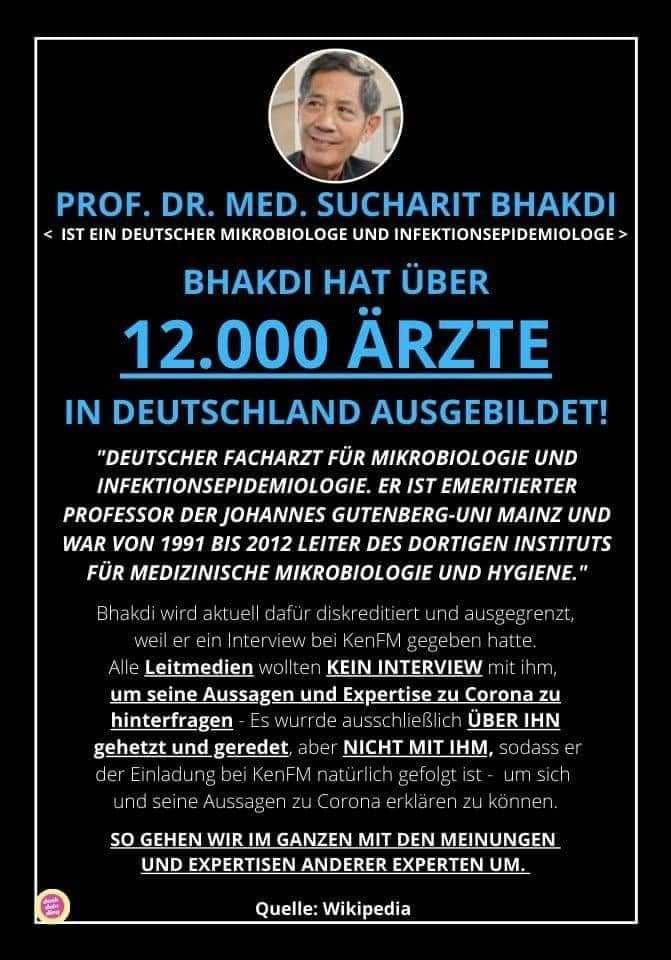 Prof Bhakdi Buch